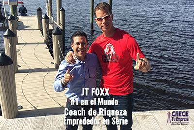 Alejandro Illera con JT Foxx